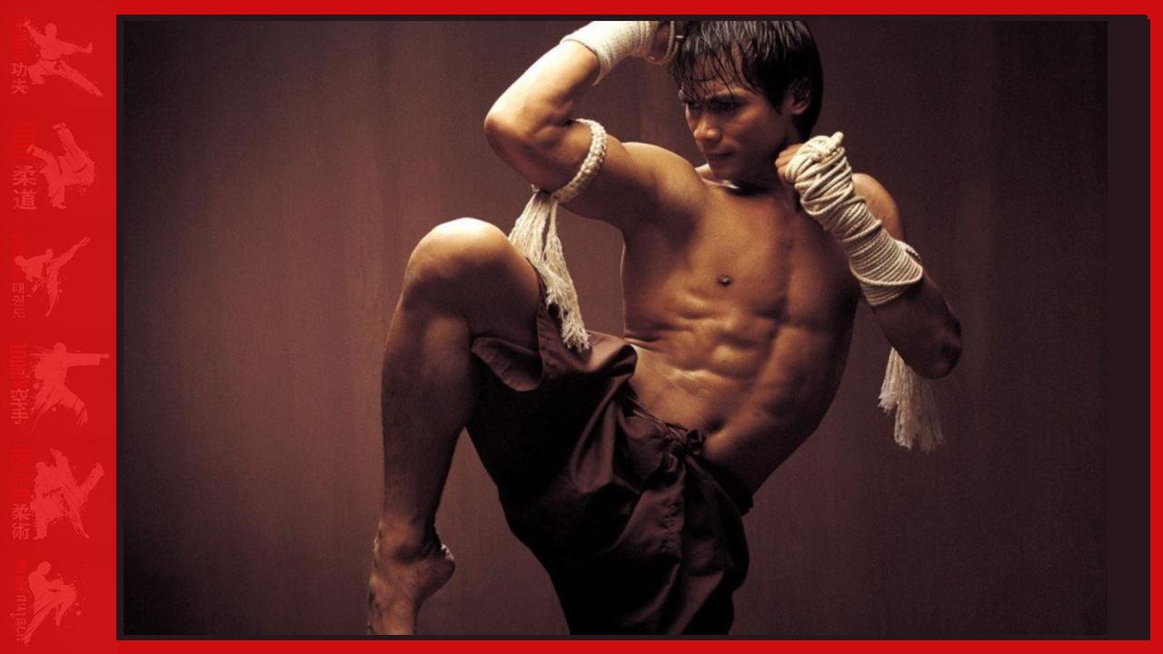 Muay Thai knee attack